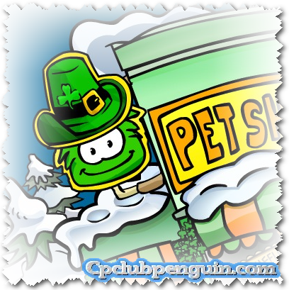 club penguin saint patricks day sneak peak
