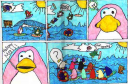 Club Penguin Comic