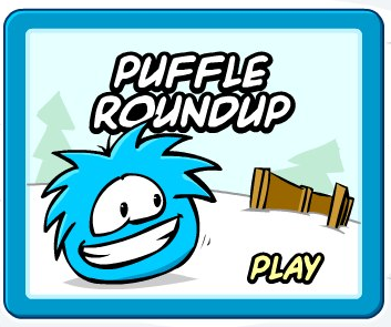 Club Penguin Puffle Round Up