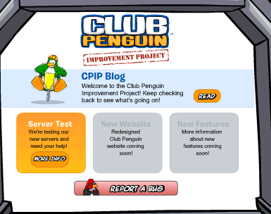 Club Penguin Improvement