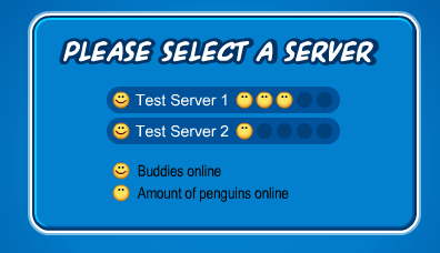 Club Penguin Test Servers