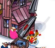 Club Penguin April Fools Party2008